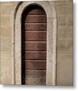 Italy - Door Ten Metal Print