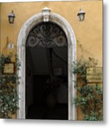 Italy - Door Thirteen Metal Print