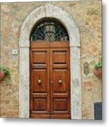 Italy - Door Twelve Metal Print