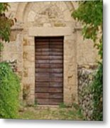 Italy - Door Twenty Five Metal Print