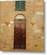 Italy - Door Twenty One Metal Print
