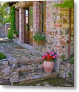 Italy In Usa- California Home Metal Print