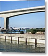 Itchen Bridge Southampton Metal Print