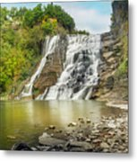 Ithaca Falls Metal Print