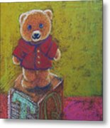 It's A Bear's World Metal Print