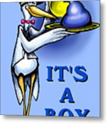 It's A Boy Metal Print