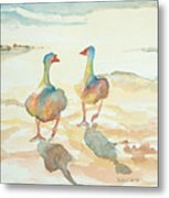 It's A Ducky Day Metal Print
