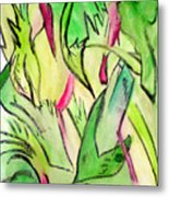 It's A Jungle Out There Metal Print