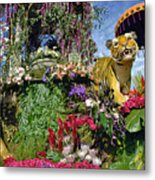 Its A Jungle Out There Metal Print