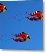 It's A Kite Kind Of Day Metal Print by Clayton Bruster