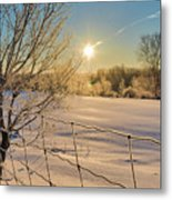 It's A Warm Cold... Metal Print