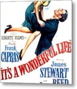 Its A Wonderful Life, Donna Reed, James Metal Print
