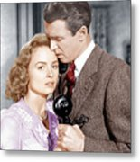 Its A Wonderful Life, From Left Donna Metal Print by Everett