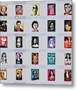 It's All About Faces Metal Print