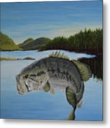 It's All About The Bass Metal Print