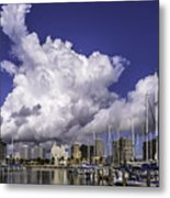 It's All About The Clouds Metal Print