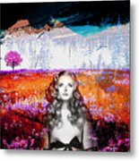 It's Always About Alice Metal Print