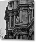 It's In The Details - Philadelphia City Hall Metal Print