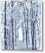 Its In The Trees Metal Print