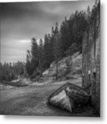 It's Over B/w Metal Print