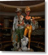 Its Vegas Baby Metal Print