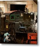 I've Been Working On The Railroad Metal Print