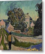 I've Decided To Retrace The Path That Vincent Took With His Easel That Day Metal Print
