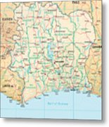 Ivory Coast Metal Print