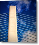 Ivory Tower At Indian River Inlet Metal Print