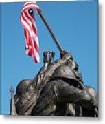 Iwo Jima 1945 - War Memorial, Cape Coral, Florida Metal Print