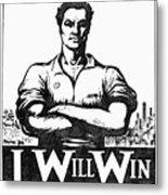 Iww Poster, 1917 Metal Print