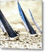 J Boats 2 Metal Print
