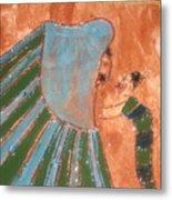 Jaaja Getu And Her Abigail - Tile Metal Print