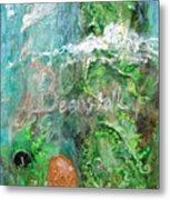 Jack And The Beanstalk Metal Print by Jennifer Kelly