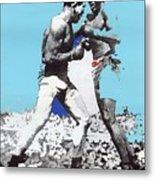 Jack Johnson Jim Jeffries Bout July 4th Reno Nevada 1910-2008 Metal Print