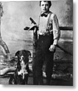 Jack London (1876-1916) Metal Print by Granger