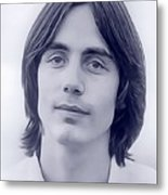 Jackson Browne, Music Legend Metal Print