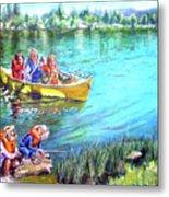 Jackson Lake Metal Print