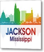 Jackson Ms Metal Print by Angelina Vick