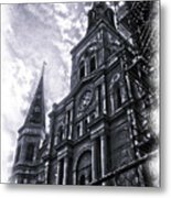 Jackson Square Cathedral Metal Print