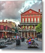 Jackson Square Evening Metal Print