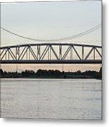 Jackson Street Bridge Metal Print