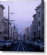 Jackson Street San Francisco Metal Print