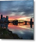 Jacksonville Sunrise Metal Print