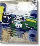 Jacky Ickx - Brabham Bt26 Metal Print