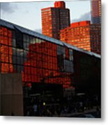 Jacob Javits Reflections Metal Print