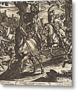 Jacob Kills Absalom, Son Of King David Metal Print