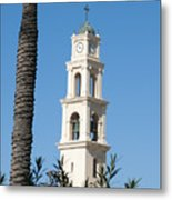 Jaffa, St Peter Church And Monastery Metal Print