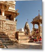 Jagdish Hindu Temple, Udaipur Metal Print