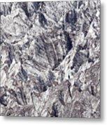 Jagged Glacier Metal Print